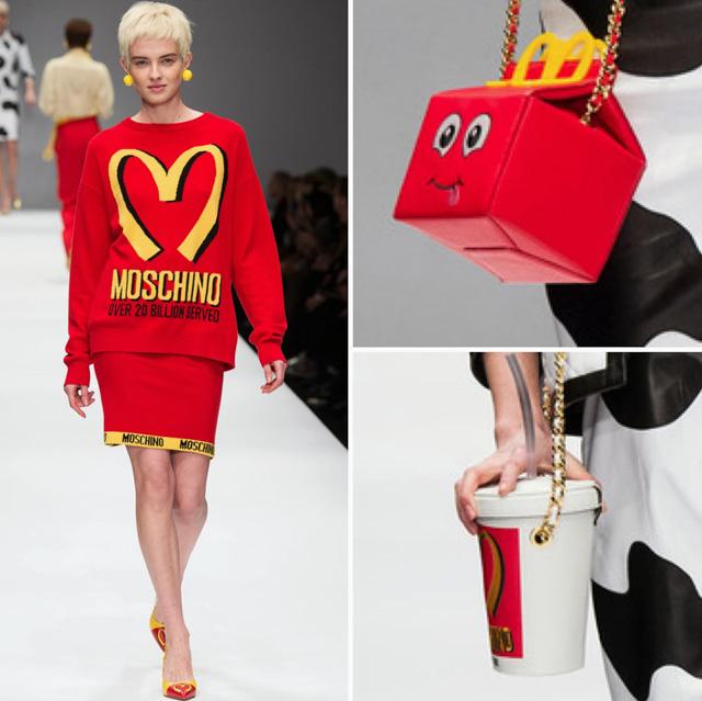 Moschino McDonald