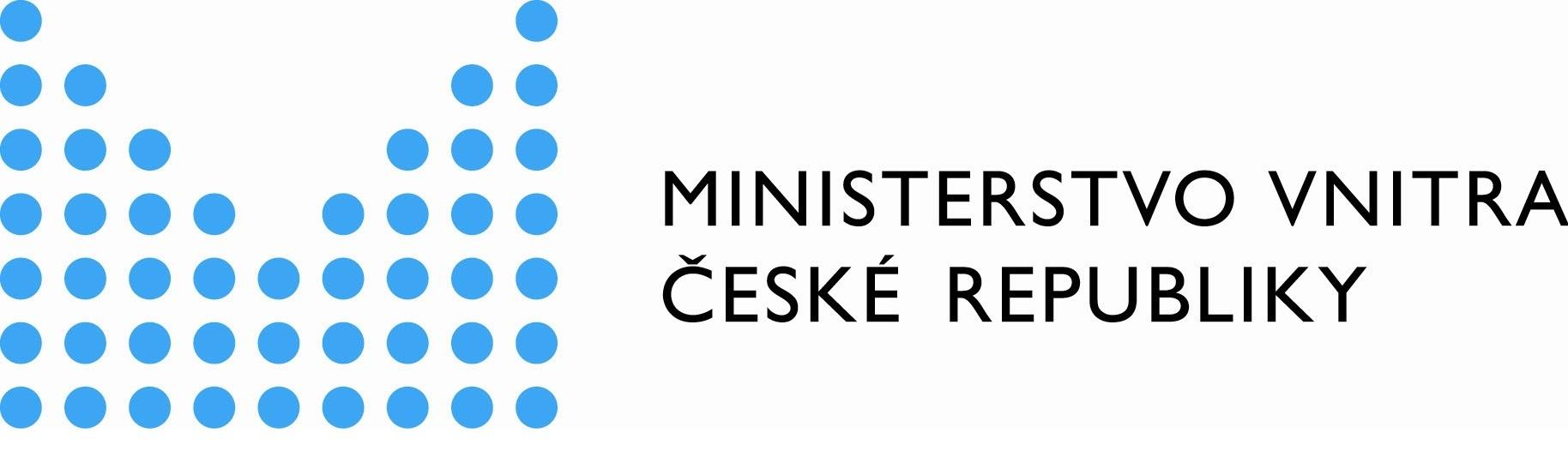 Ministersto vnitra České republiky Logo